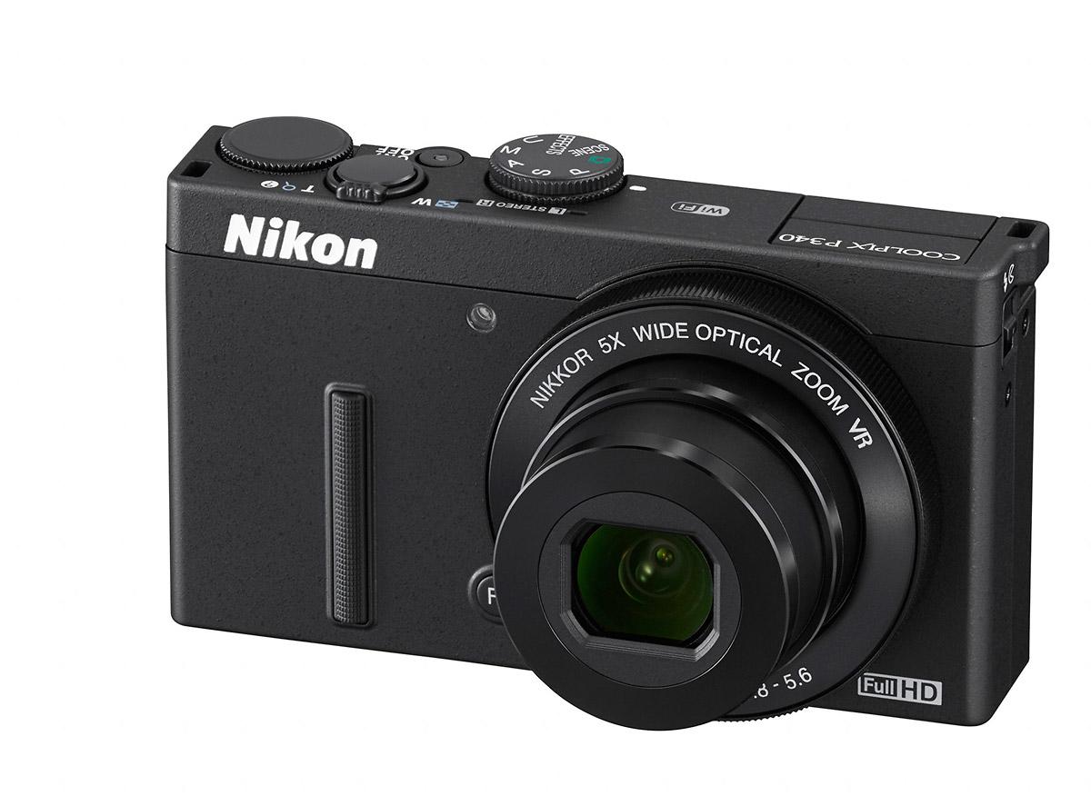 Nikon Coolpix P340 - Front Left