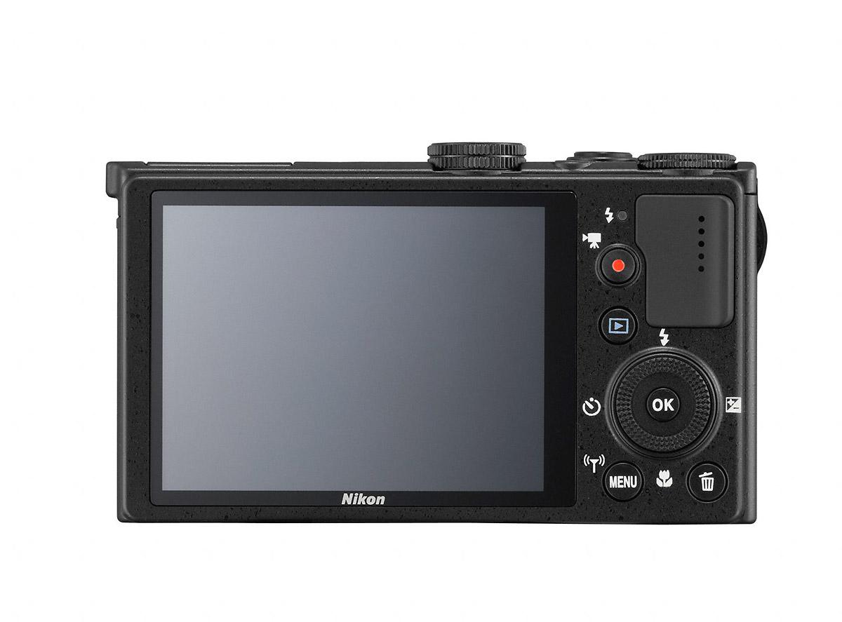 Nikon Coolpix P340 - Rear View
