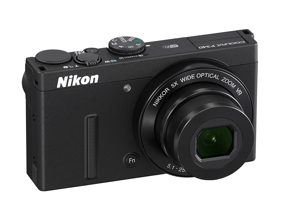 Nikon Coolpix P340 - Front Right