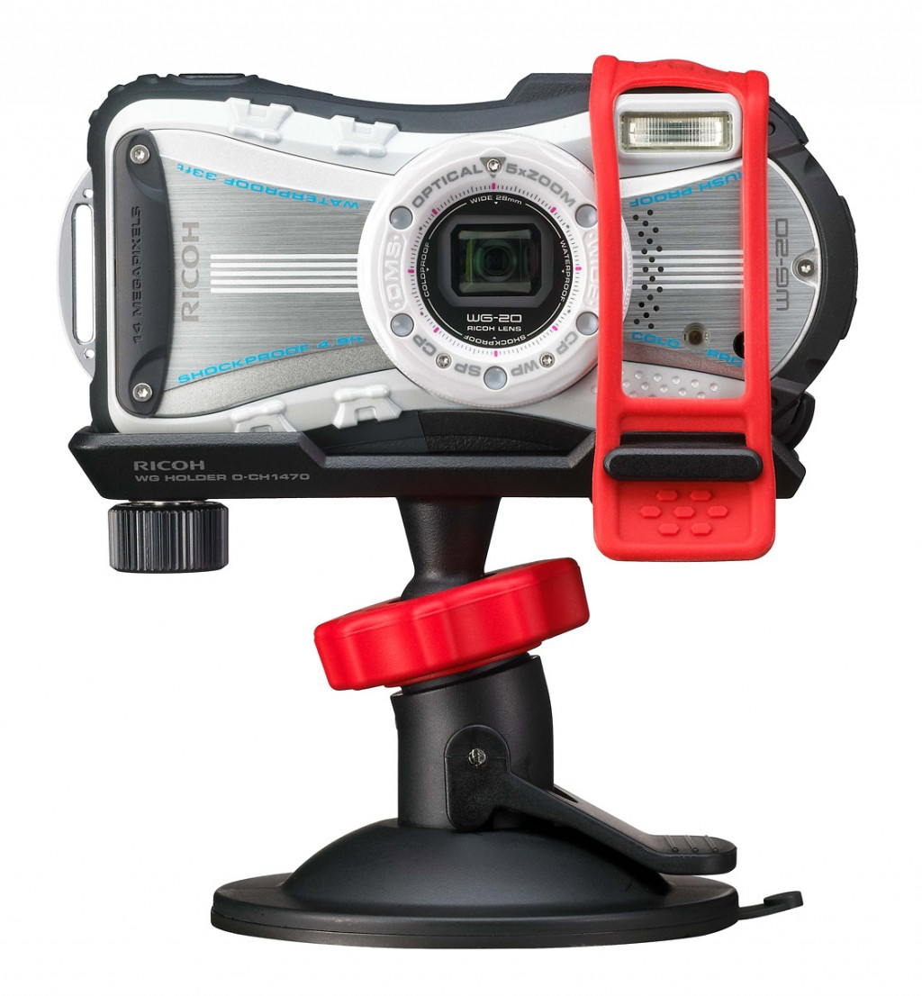 Ricoh WG4 Rugged P&S With New Modular Mounting System