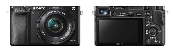 Sony Alpha A6000 - Front & Back