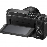 Nikon 1 V3 - Rear View With Tilting Touchscreen Display